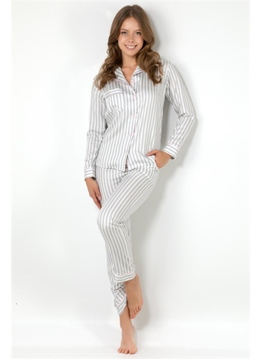 Doremi Pijama Takım Gri
